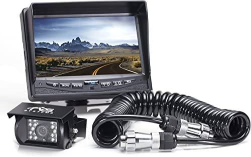 Rear View Safety RVS-770613-213 Backup Camera System with Quick Connect Kit for Fifth Wheels, Trailers, Travel Trailers and Semi-Trucks