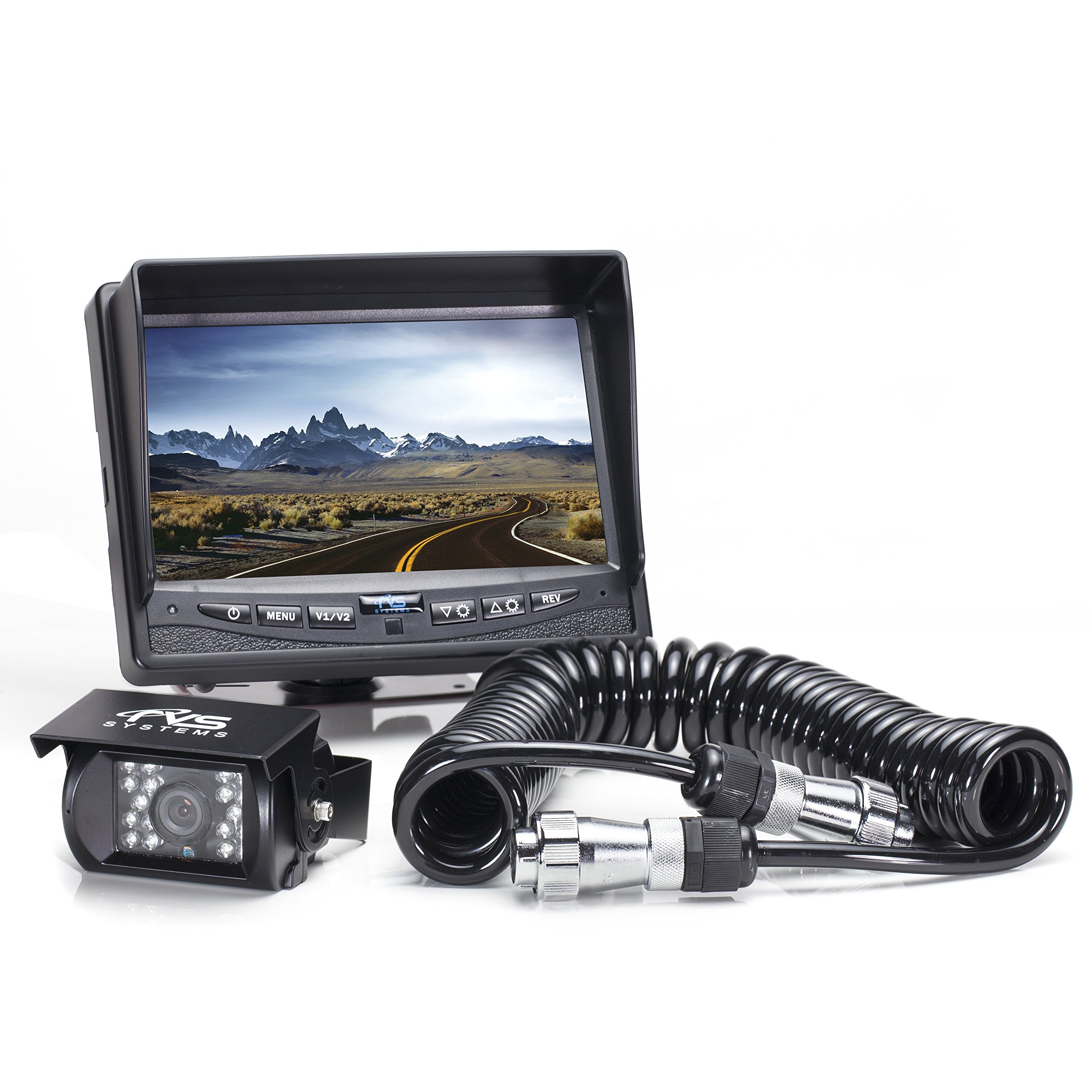 Rear View Safety RVS-770613-213 Backup Camera System with Quick Connect Kit  for
