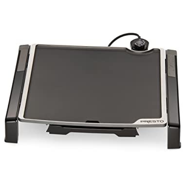 Presto 07071 Electric Tilt-N-fold Griddle, 15 , Black