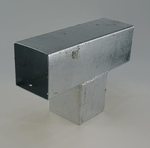 Madera del conector T Vigas de forma para 3 x 90 x 90 mm postes ...