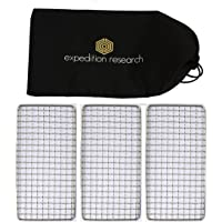 Expedition Research LLC Family 3-Pack - The Original Bushcraft Grill - Welded Stainless Steel High Strength Mesh…