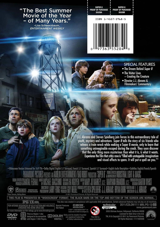Amazon com: Super 8: Elle Fanning, Kyle Chandler, Joel