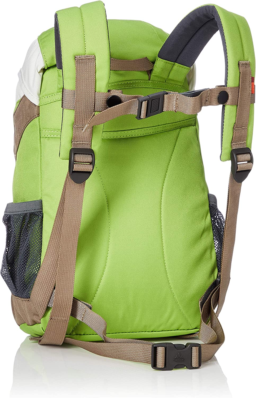 6 Brown//Chute Green VAUDE Ayla Childrens Backpack