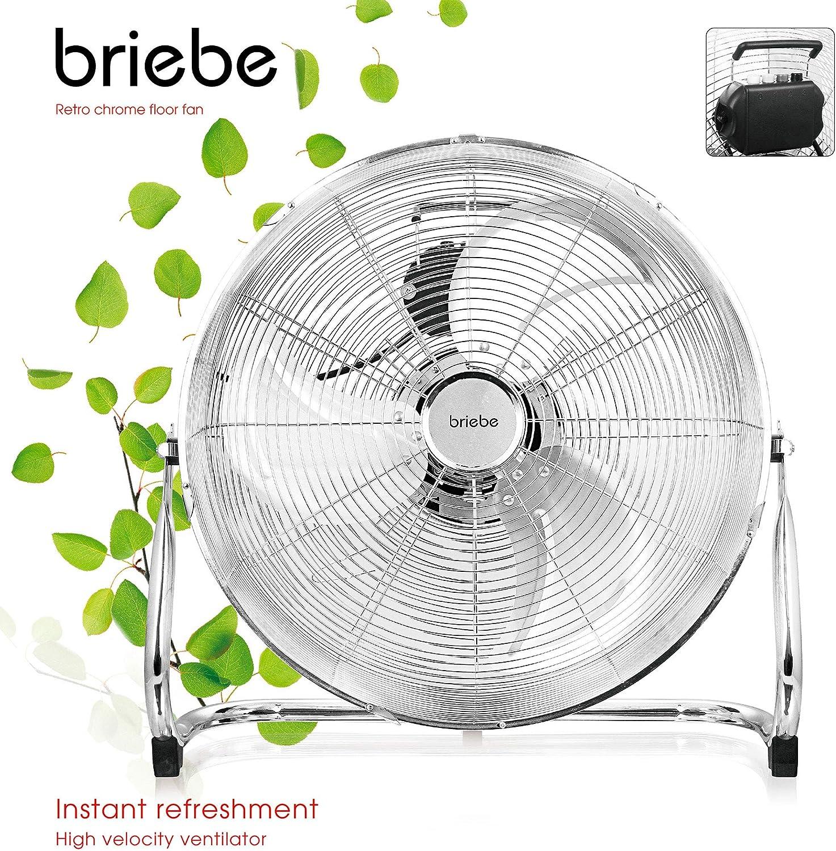 briebe FN123149 Ventilador Industrial Suelo Oscilante, 3