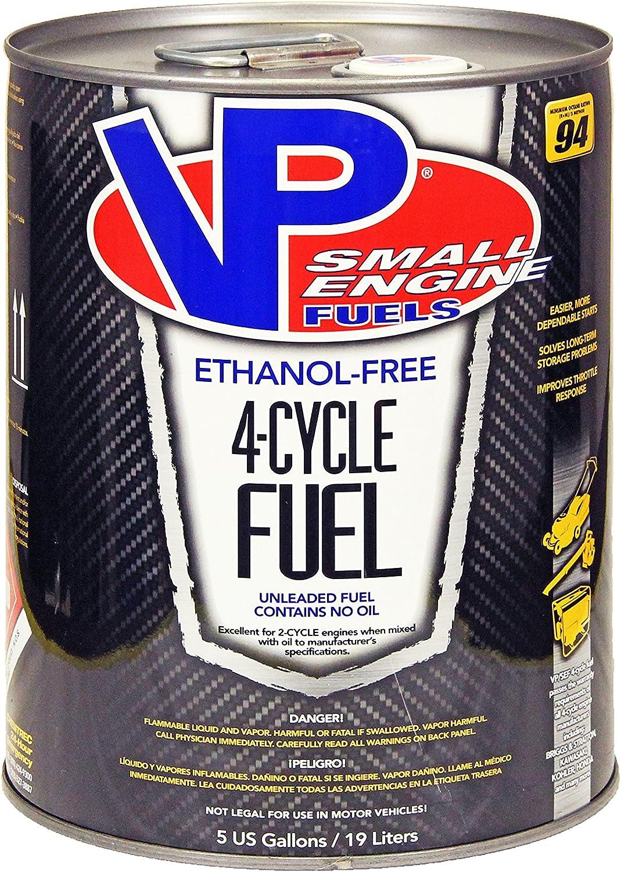 VP Small Engine Fuels 6202 Ethanol-Free JASO-FD 4-Cycle Fuel - 5 gal