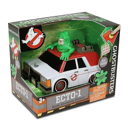 3 opinioni per Modello Auto ECTO-1 con SLIMER Fantasma Verde GHOSTBUSTERS 16cm MUSICA Film e