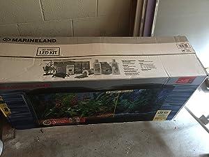 Marineland 55 gallon aquarium kit