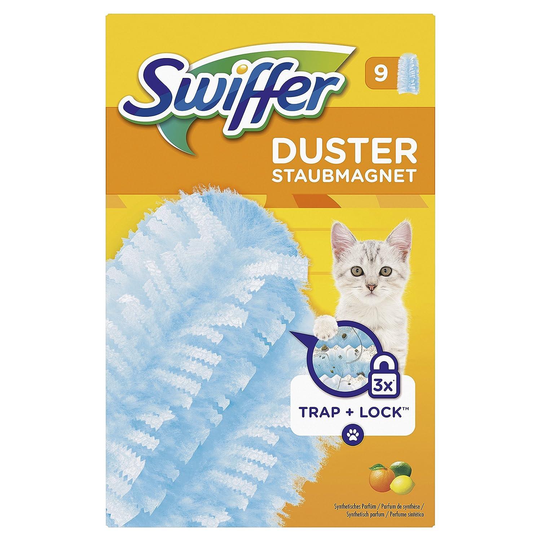 Swiffer Duster Attrape/Retient Idé al pour Animaux Pack de 9 81661297