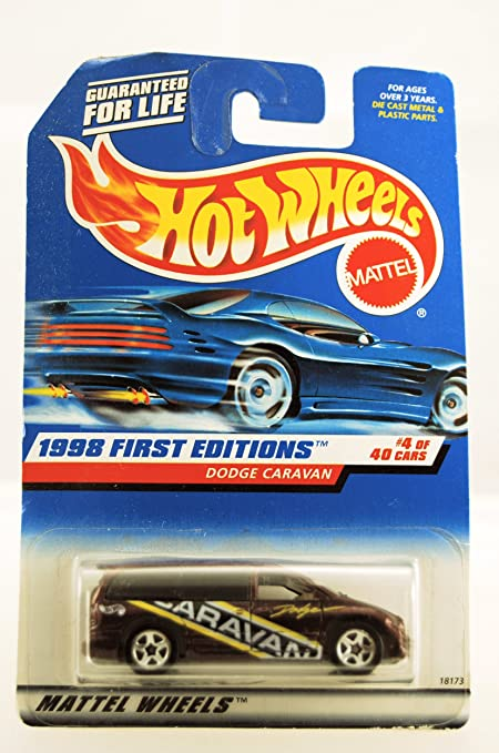 Amazon Com Hot Wheels 1998 First Editions Dodge Caravan