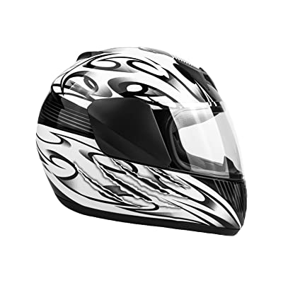 Typhoon Youth Full Face Motorcycle Helmet Kids DOT Street
