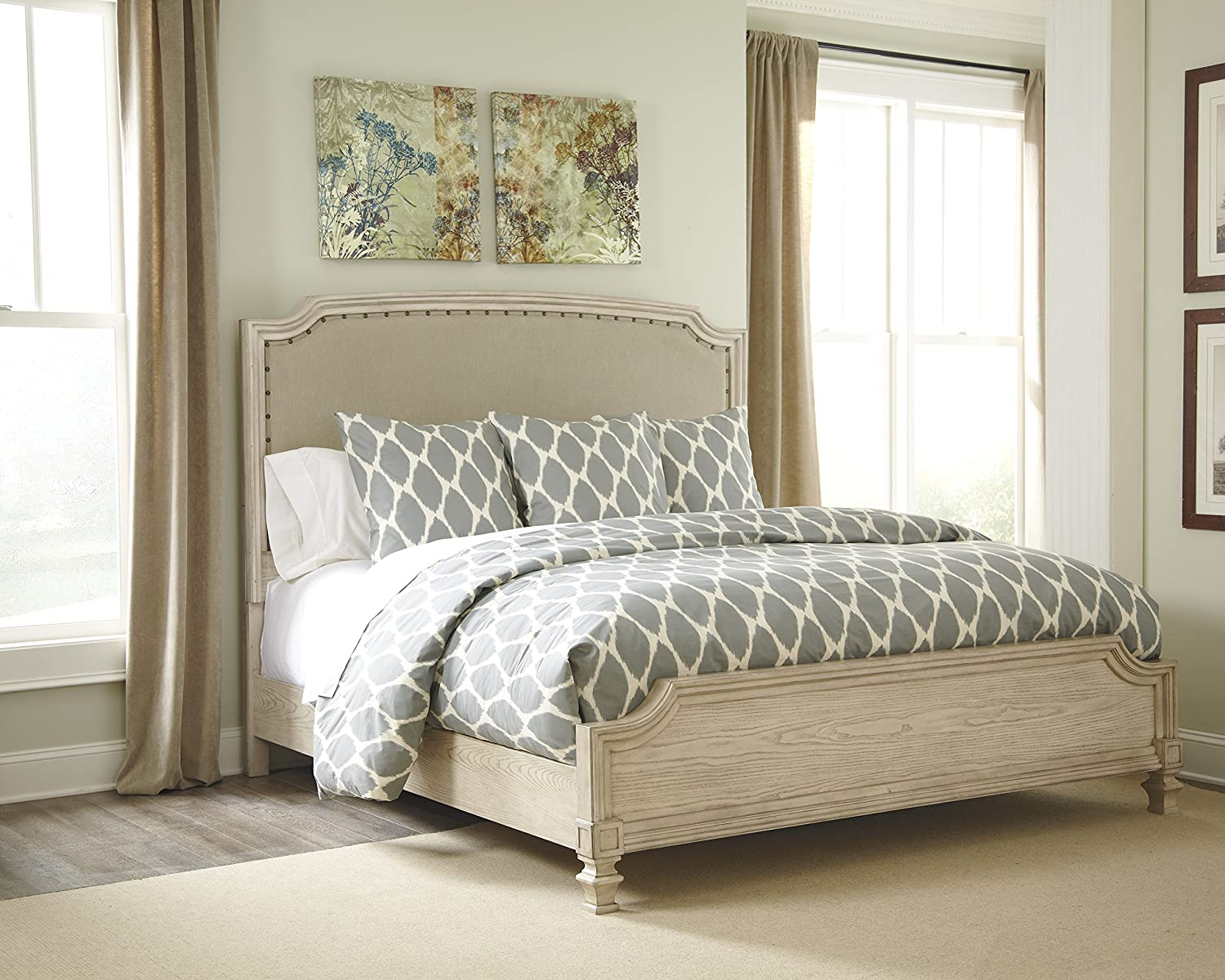 Great Upholstered Bedroom Set Painting