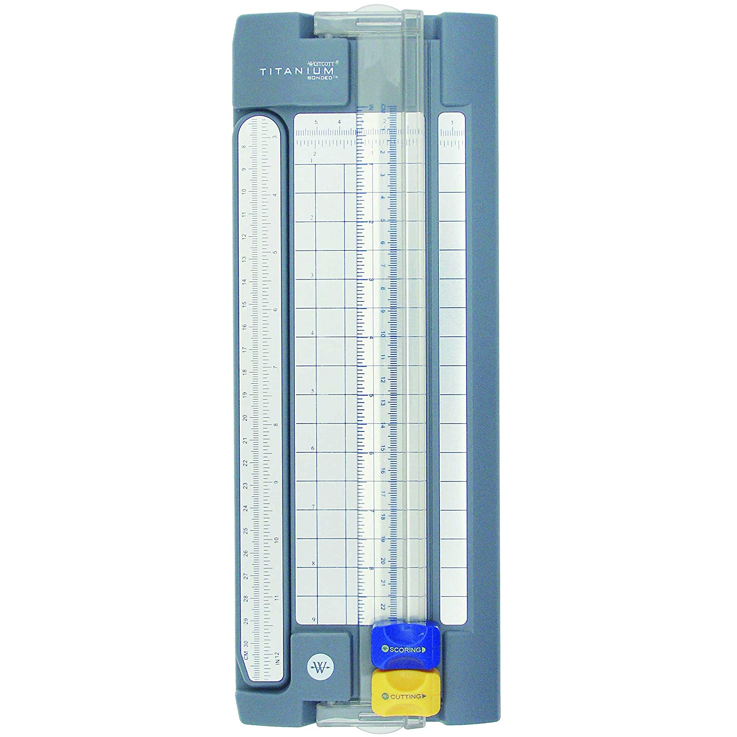 Westcott Paper Trimmer With Titanium Bonded Cut And Score Blades, 9 9 Acme United 13782