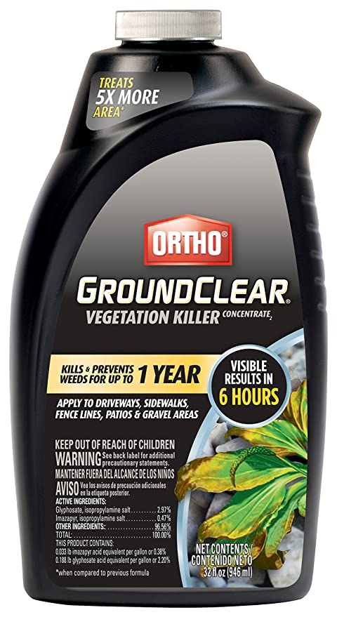 Amazon.com : Ortho 0431406 Groundclear Vegetation Killer, 32 oz : Garden & Outdoor