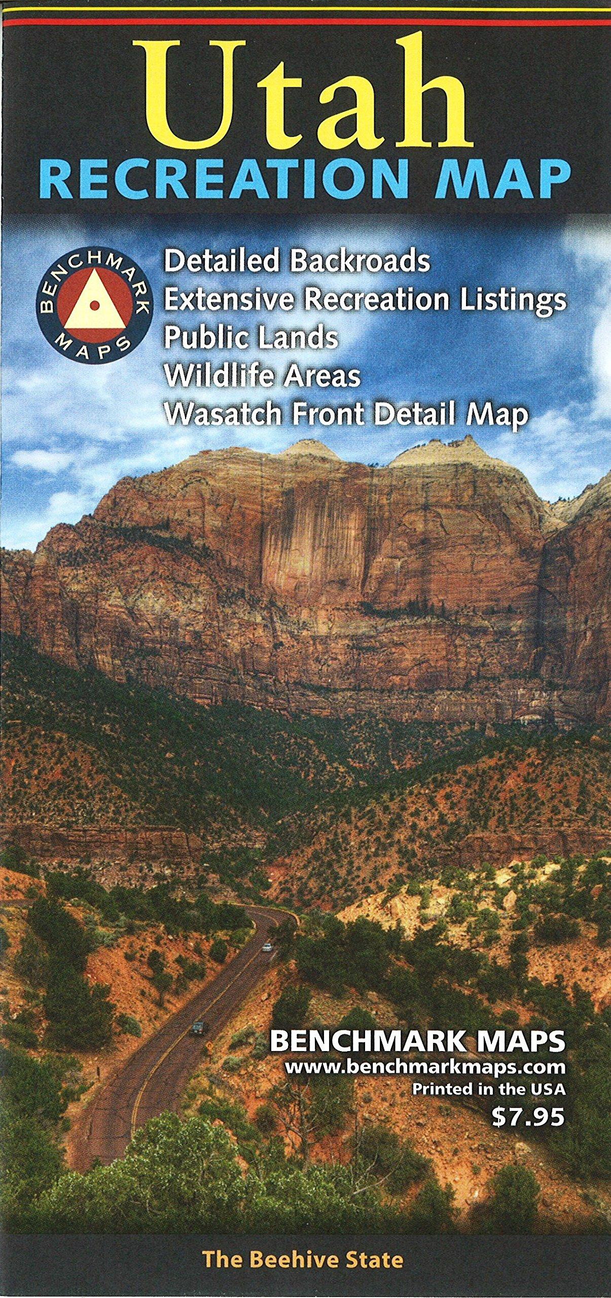 Download Utah Recreation Map ebook