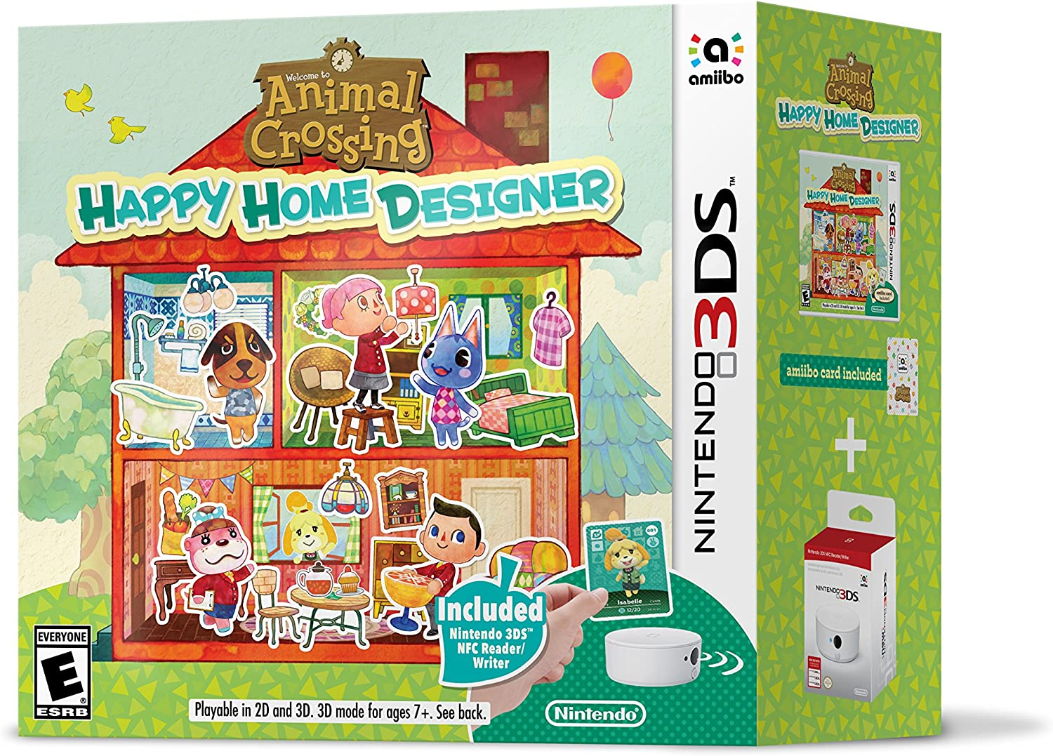 Shopandbox Buy Final Clearance Nintendo 3ds Animal Crossing Happy Home Designer Bundle From Ca