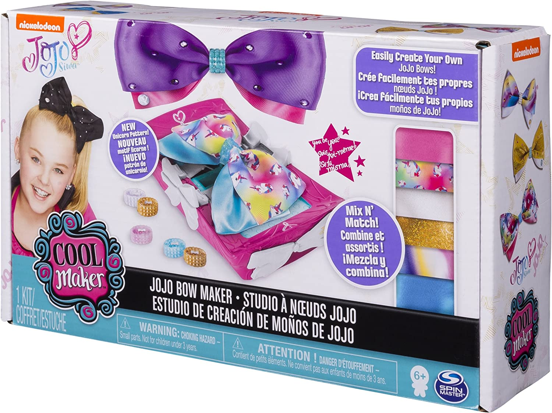 Amazon Com Cool Maker Jojo Siwa Bow Maker With Rainbow And
