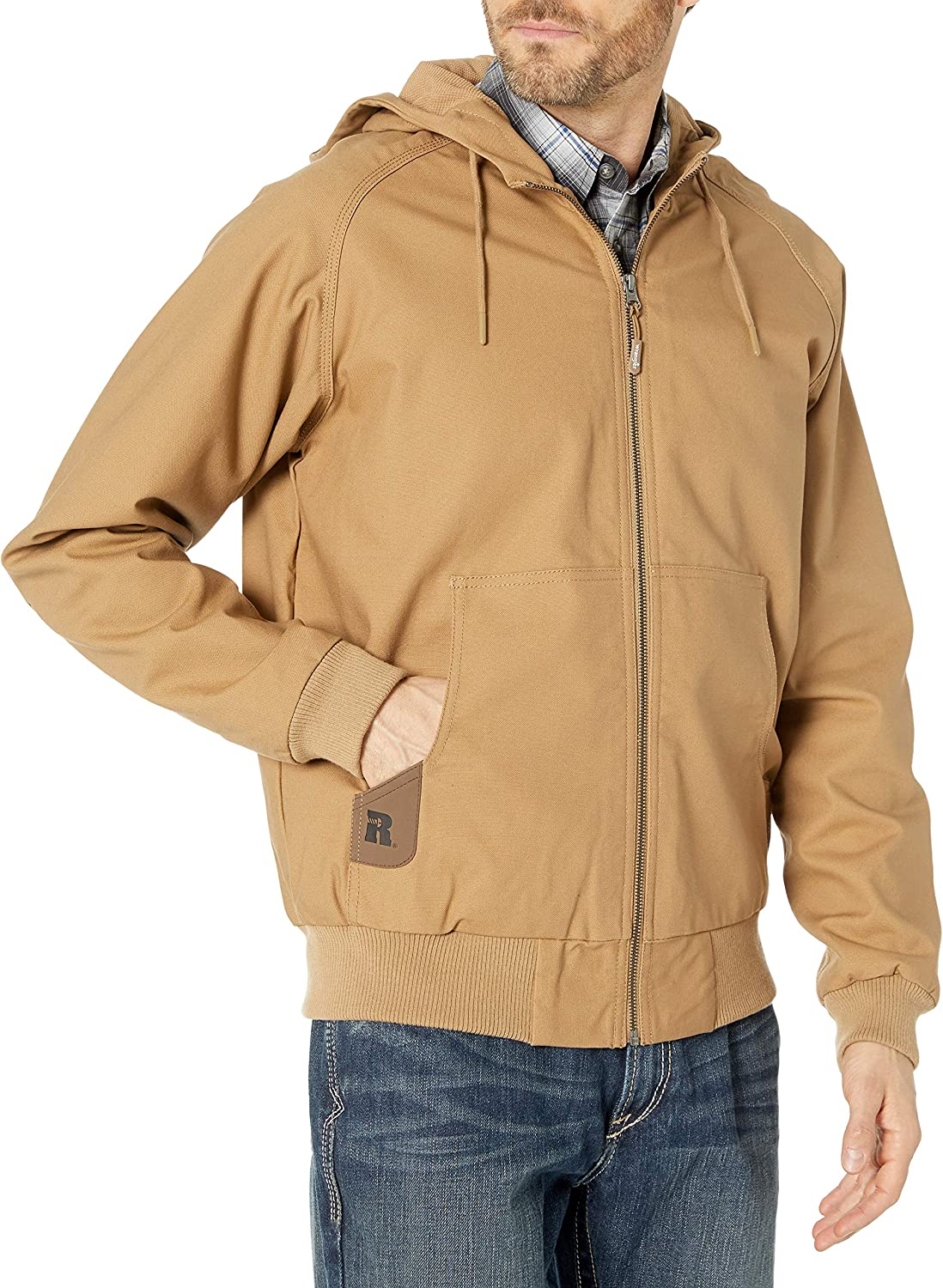 Wrangler Mens Workhorse Hooded Jacket Outerwear