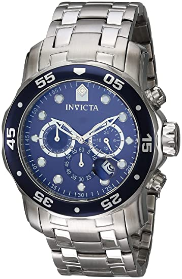 6f53d54d851 Buy Invicta Analog Blue Dial Men s Watch - 70 Online at Low Prices in India  - Amazon.in
