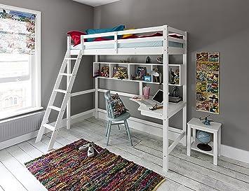 Noa And Nani New York High Sleeper Cabin Bed 2 6 Junior Loft Bed