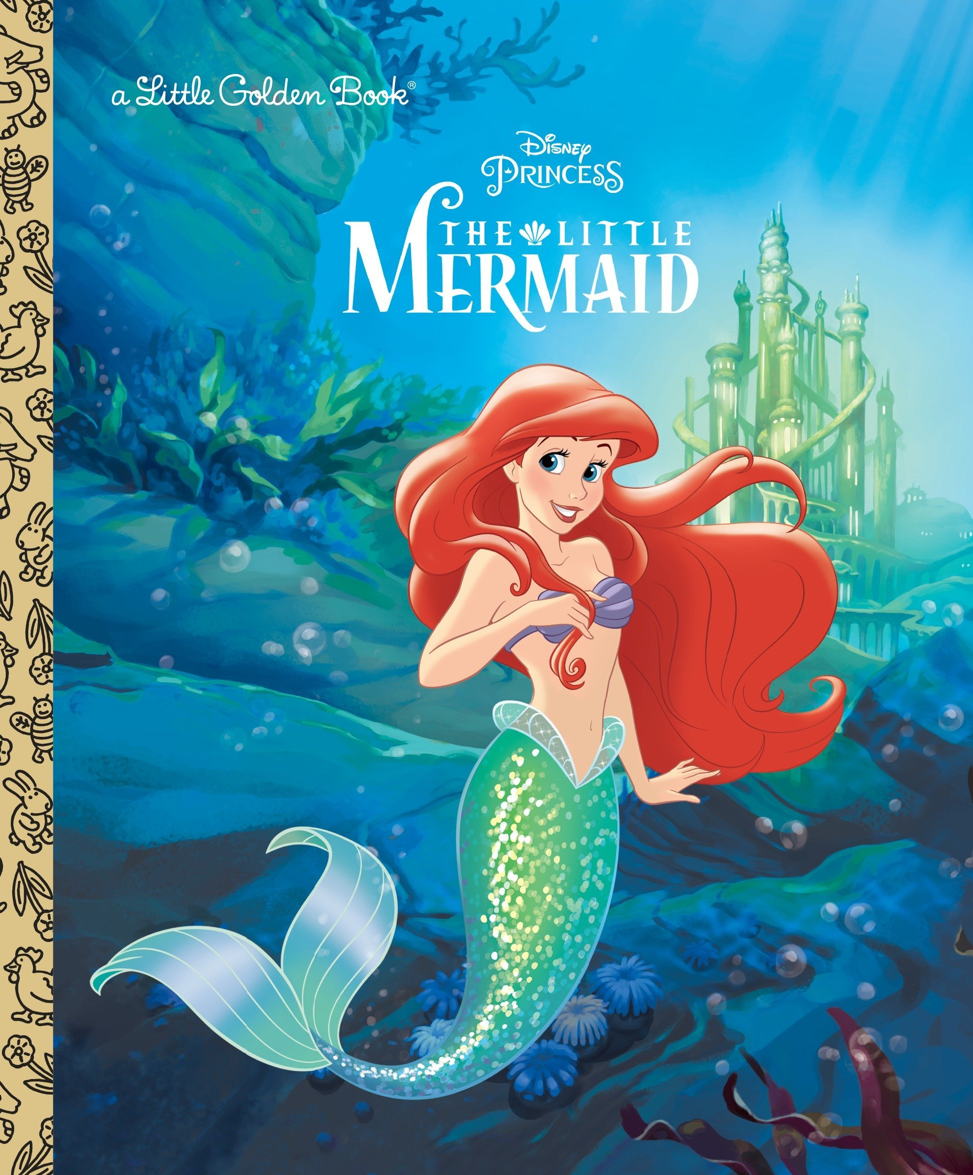 The Little Mermaid Disney Princess Little Golden Book Teitelbaum Michael Dicicco Sue 8601420762459 Amazon Com Books