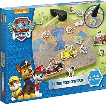 PAW PATROL Hammerspiel Juego de martillo de la Patrulla Canina, multicolor (TM Essentials 720282) , color/modelo surtido: Amazon.es: Juguetes y juegos