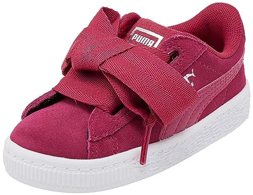 Puma - Zapatillas para Niña Rojo Love Potion/Love Potion: Amazon.es: Zapatos y complementos