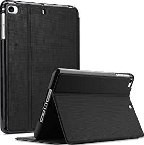 ProCase iPad Mini Case for iPad Mini 5 2019/ Mini 4, Mini 1 2 3, Slim Stand Protective Folio Case Smart Cover for iPad Mini 5/4/3/2/1 -Black