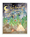 Stupell Home Décor Be Brave Camping Painting Wall