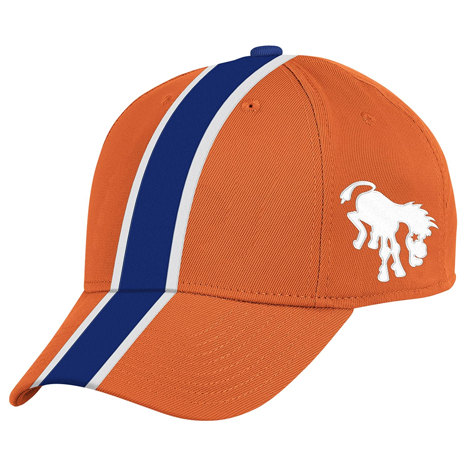 Amazon.com : Denver Broncos Authentic Mitchell & Ness Retro Bucking Horse Logo Helmet Hat : Football Equipment : Sports & Outdoors