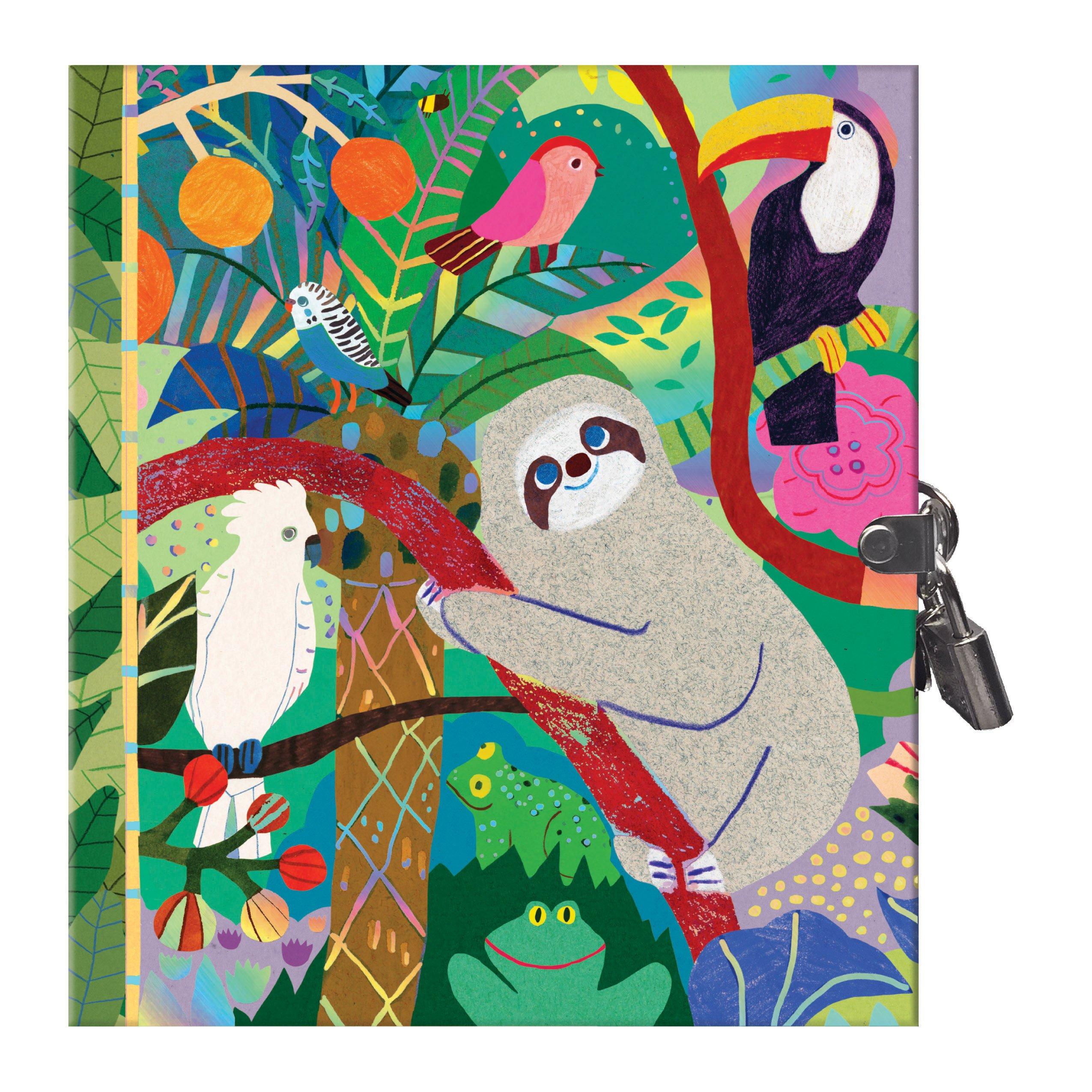 eeBoo Secret Sloth Diary for Kids
