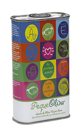 Peque Oliva, New From Spain, the First Olive Oil Just for Kids, 8.5