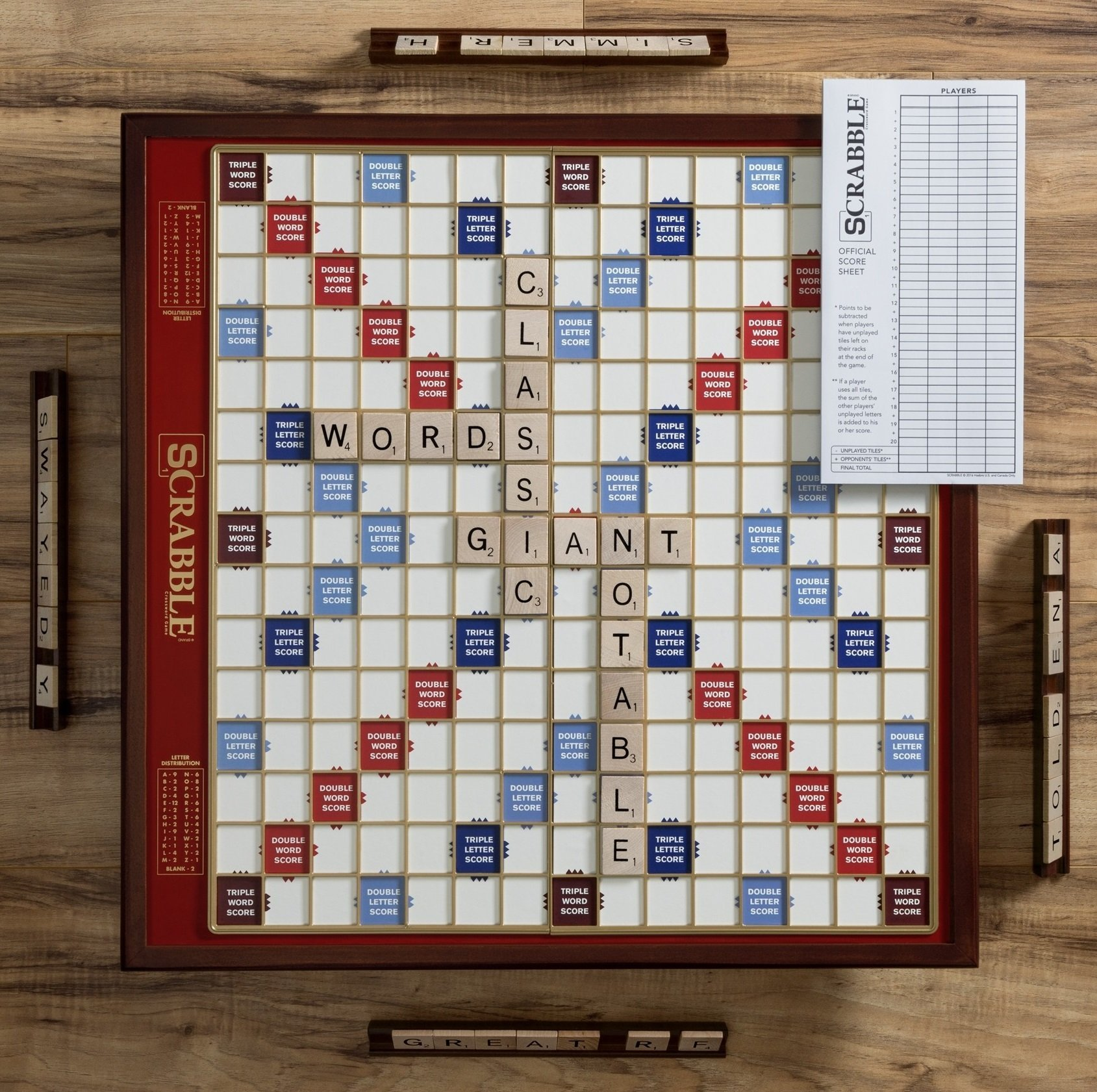 Deluxe Giant Scrabble Game