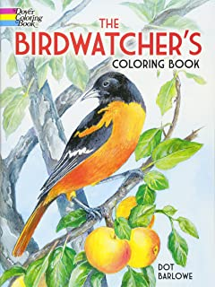 the birdwatchers coloring book dover nature coloring book - Bird Coloring Book