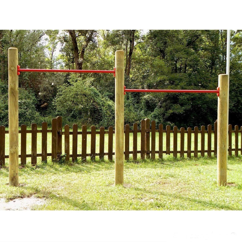Gartenpirat Doppelreck Turnstangen / Turnreck für den Garten von Gartenpirat®