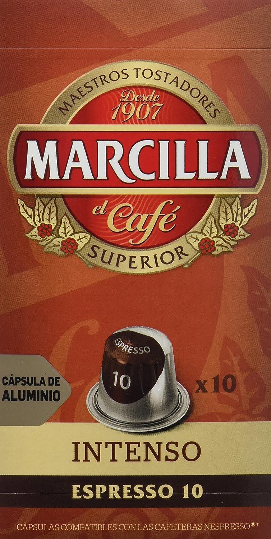 Marcilla Cápsulas Intenso 10 caps - [Pack de 4]: Amazon.es: Alimentación y bebidas