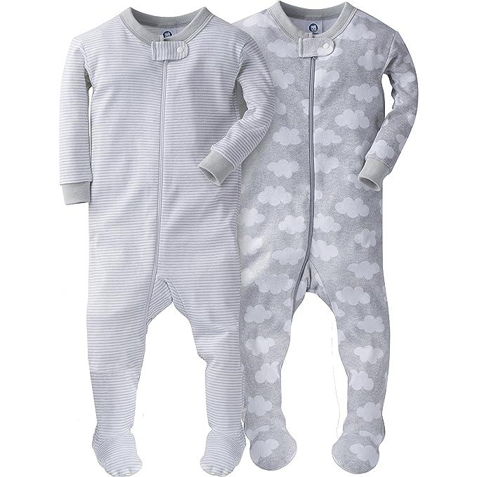 5da8290473 Gerber Baby - Juego de 2 Pijamas para niño  Amazon.com.mx  Ropa ...