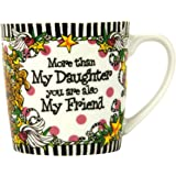 Brownlow Kitchen Brownlow Gifts Gift Mug, Suzy Toronto Daughter, Black/White