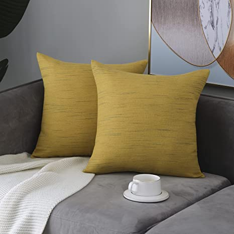 """Cushion Cover Cotton Pillow Case Throw Couch Sofa Bed Home Décor 16/""""X16/"""""""