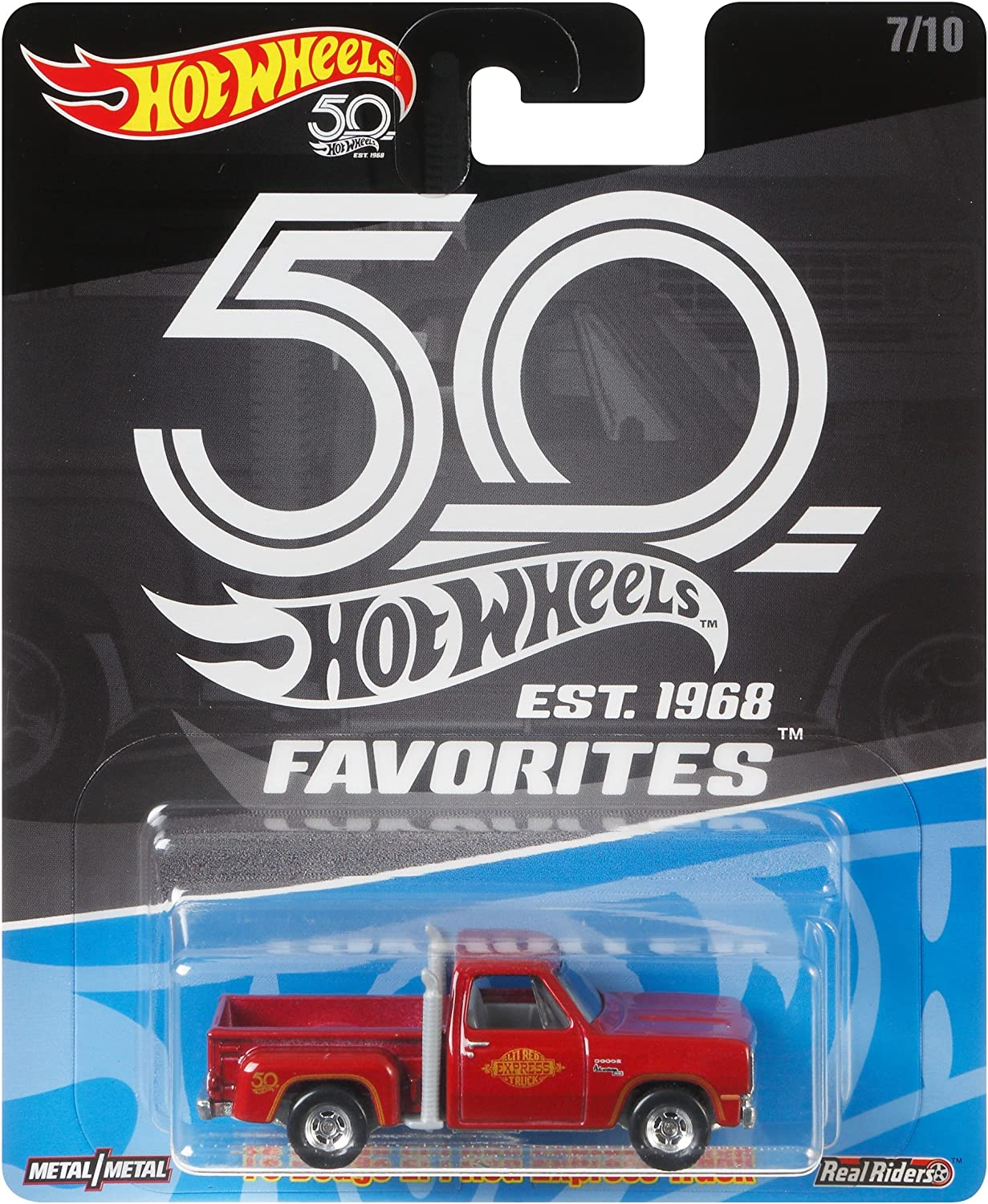 Hot Wheels 50th Anniversary Favs 78 Dodge Lil Red Express Truck