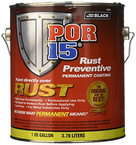 POR Rust Preventing Coating