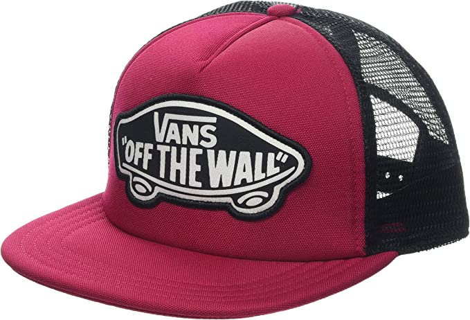 Vans WM Beach Girl Trucker Hat Gorra de béisbol, Rojo (Cerise Sq2 ...