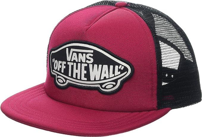 Vans WM Beach Girl Trucker Hat Gorra de béisbol, Rojo (Cerise Sq2 ...