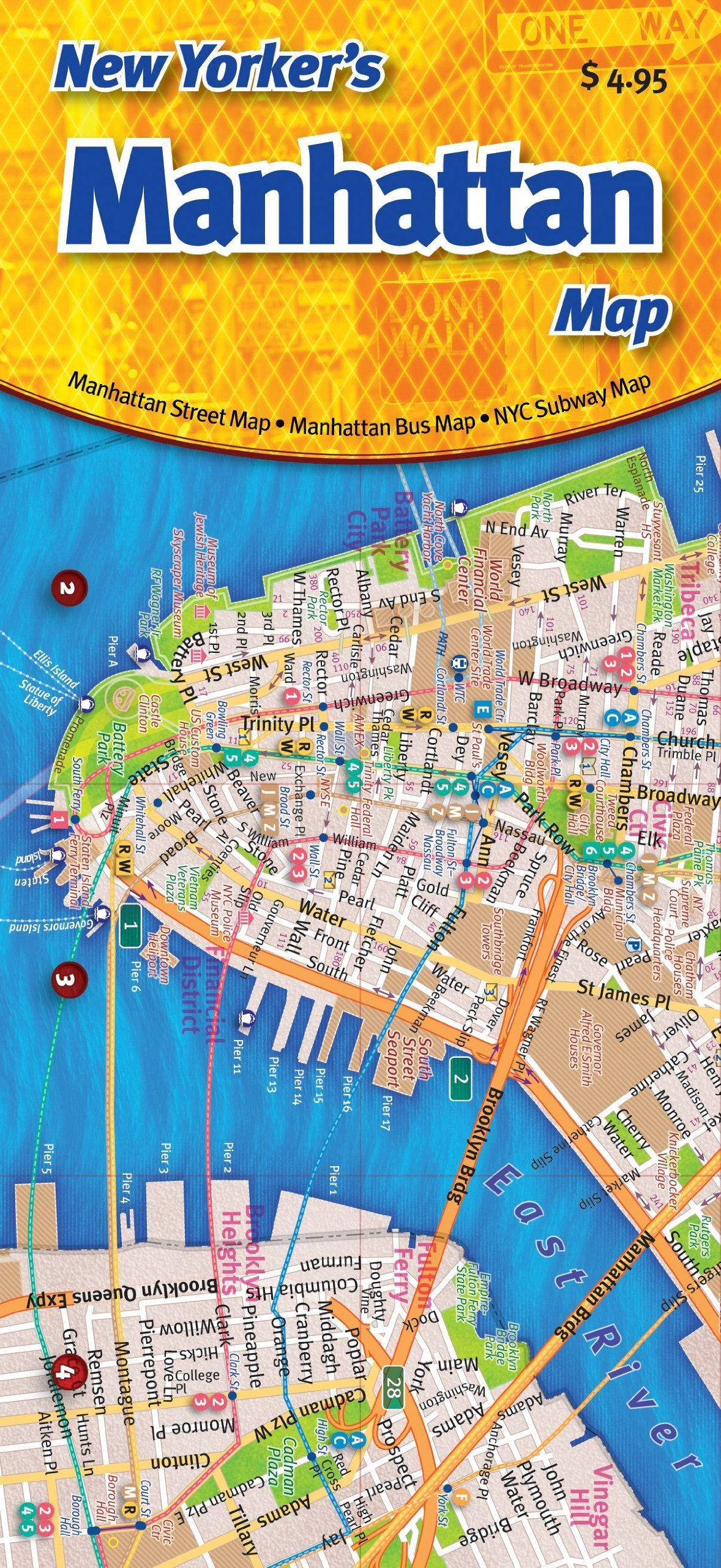 New Yorker's Manhattan Map: Opus Publishing: 9780972966603 ... on map of manhattan, bronx map manhattan, hudson yards new york manhattan, penn station manhattan, midtown manhattan, metro subway map manhattan, harlem map manhattan, new york uptown manhattan, long island map manhattan, street map manhattan, nyc mta subway map manhattan, new york weather manhattan, new york manhattan skyline, new york subway routes, united states map manhattan, new york hotels manhattan, new york subway lines manhattan, brooklyn bridge manhattan, 1940's new york city manhattan, new york lower east side manhattan,