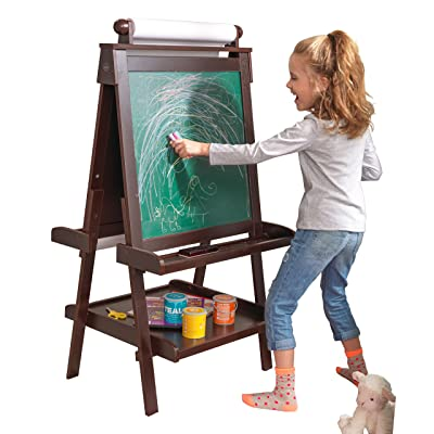 Kidkraft Deluxe Wood Easel- Espresso: Toys & Games