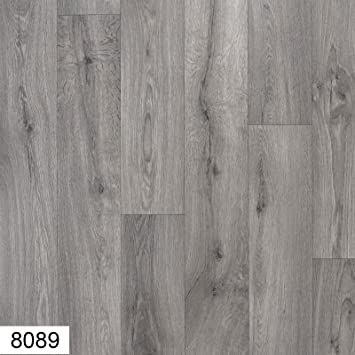 8089 Atlas 4 Mm Thick Premium Grey Wood Effect Anti Slip Vinyl