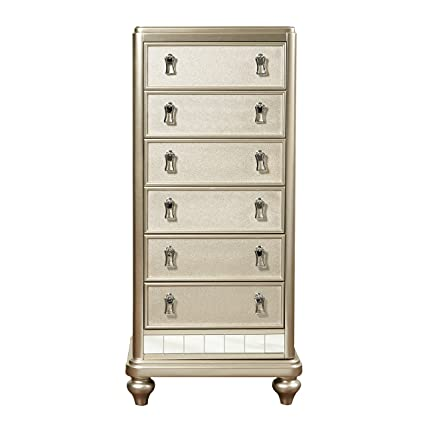 the latest ee276 94bbf Amazon.com: Pulaski Diva Six Drawer Lingerie Chest in ...