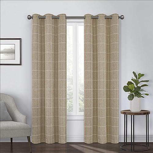 Eclipse Peconic Grommet Top Curtain