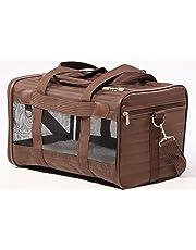 Sherpa Original Deluxe Pet Carrier, Medium, Brown