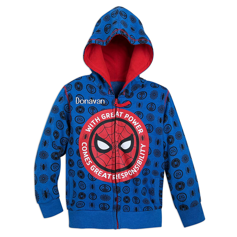 Marvel Spider-Man Hoodie for Boys - Blue Disney