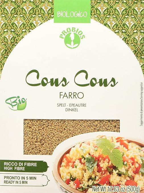 5 opinioni per Probios Couscous Integrale di Farro- 500 gr